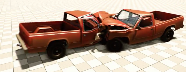 More Stunning BeamNG Crash Footage