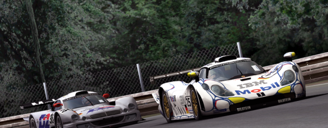 Mercedes-Benz CLK-GTR &#038; Porsche 911 &#8211; Released