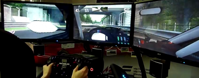 Assetto Corsa – Monza Race Gameplay Video