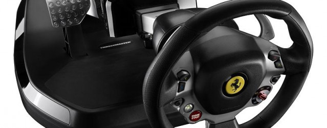 Thrustmaster Ferrari Vibration GT Cockpit Announced