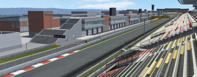 Korea Circuit 2011 for rFactor – New Previews