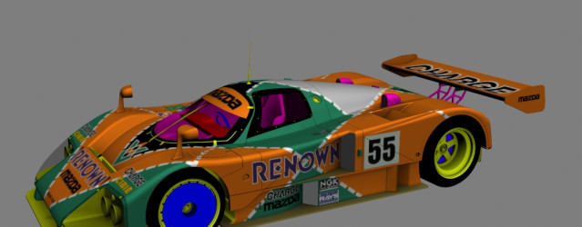 MAK Classic Cars Mod  New Mazda 787B Previews