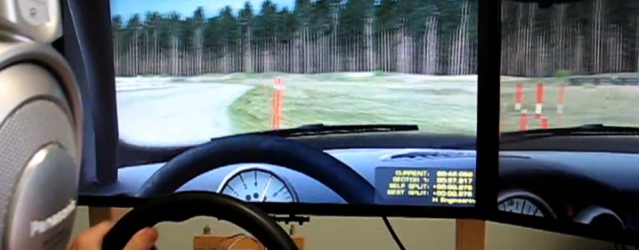 Niels Heusinkveld WRC Physics Test  On-Board Video