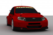 Lada Granta WTCC 2012 – First Previews