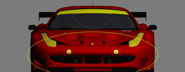 Ferrari F458 GT2 for GTR 2 – Configuration Details