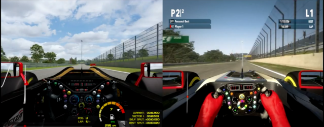 Game Stock Car vs. F1 2012 &#8211; Video Comparison