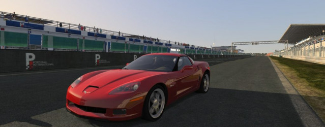 Corvette C6 2012 for rFactor 2 &#8211; First Previews