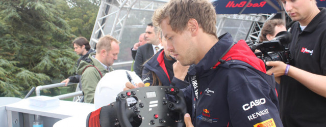 Vettel-signed Fanatec Wheel Charity Auction