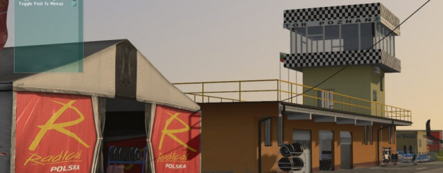 Poznan for rFactor 2 – Pitlane Environment Previews