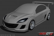 World Super GT 2 – New Mazda 3 20B Front Previews
