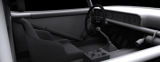Pontiac Firebird by Team 21 – First Interior Preview