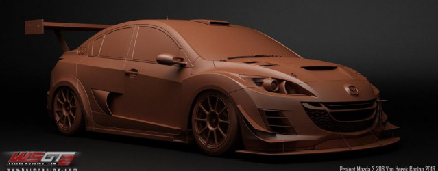 World Super GT 2 – More Mazda 3 Renders