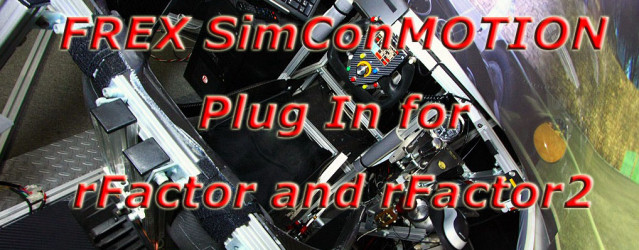 FREX SimConMotion &#8211; rFactor 1 &#038; 2 Plugin Out