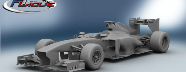 F1Ligue F1 2013 for rFactor 2 – First Ferrari Render