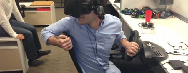 Oculus Rift – Racing Game Testing Started