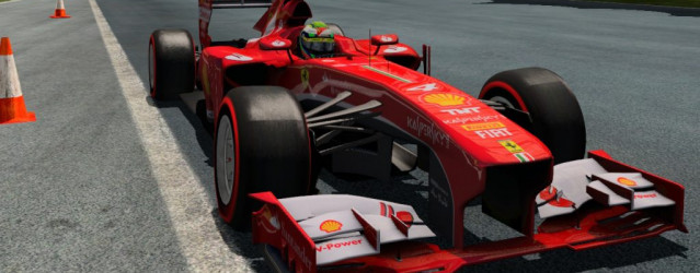 F1 2013 for rFactor 2 – Ferrari F138 Demo Released