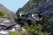 BeamNG – Cliff Tumble Video