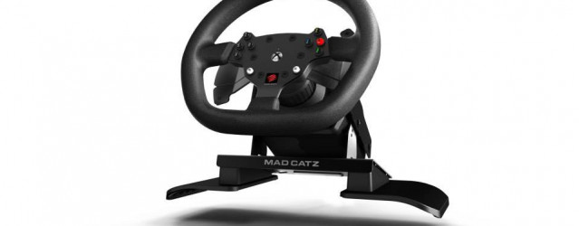 Mad Catz Unveils Xbox One Steering Wheel
