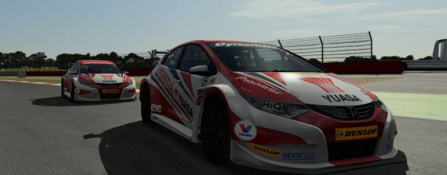 rFactor 2 – Honda Civic Touring Car Revealed