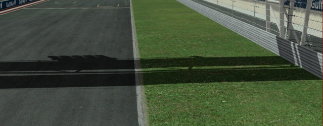 Bahrain for rFactor 2 – Grass Previews