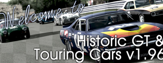 Historic GT & Touring Car 1.96 – Released