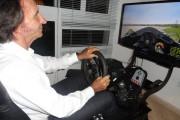 Emerson Fittipaldi Tries Game Stock Car 2013