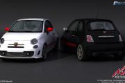 Assetto Corsa – Fiat Abarth 500 Renders