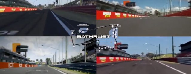 Bathurst in Three Simulations – Comparison Video
