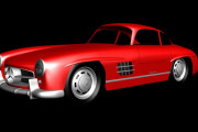 Mercedes Benz 300 SL for AC – First Previews