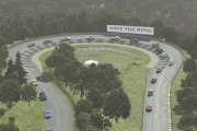 Nordschleife 24h Layout for rF2 – 100+ Car Test Video
