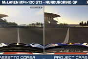 Project CARS  vs. AC – Nürburgring Comparison