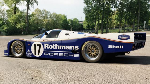 Porsche 962C for Assetto Corsa – More Renders