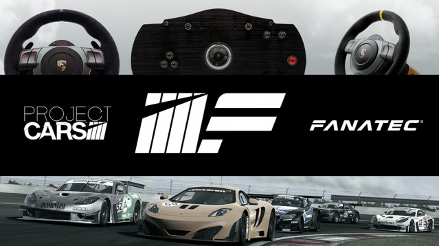 pCARS & Fanatec Announce Extensive Console Support