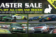 R3E – Easter Sale On Now!