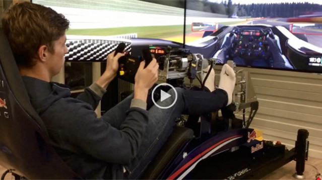 Max Verstappen Tries Project CARS – Videos