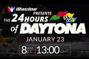 iRacing 24 Hours of Daytona – Full Coverage