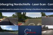 Laser-Scanned Nordschleife – 4-Way Battle