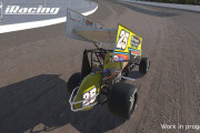 Take A First Look At iRacing's Dirt Sprint Car