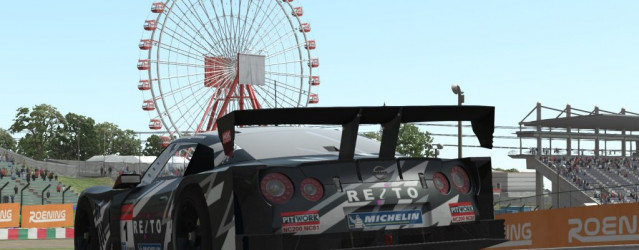 Download The Nissan GT-R Super GT Car for rF2 Now
