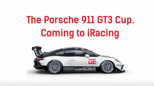 Porsche Coming To iRacing in January