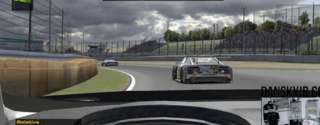 Watch Nicki Thiim In Action With iRacing's GT3 Cars
