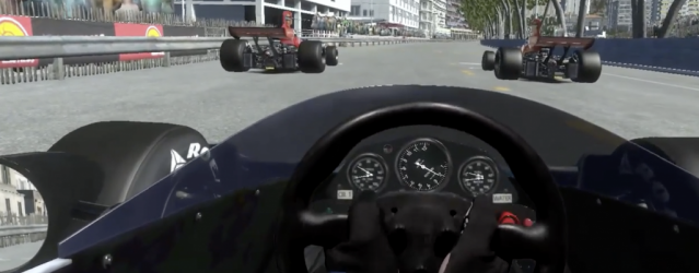 Watch Mixed Reality Historic Monaco in rFactor 2