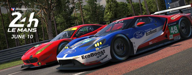 New iRacing Build Introduces Ford, Ferrari & More