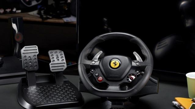 New Thrustmaster T80 Ferrari 488 GTB Wheel Unveiled