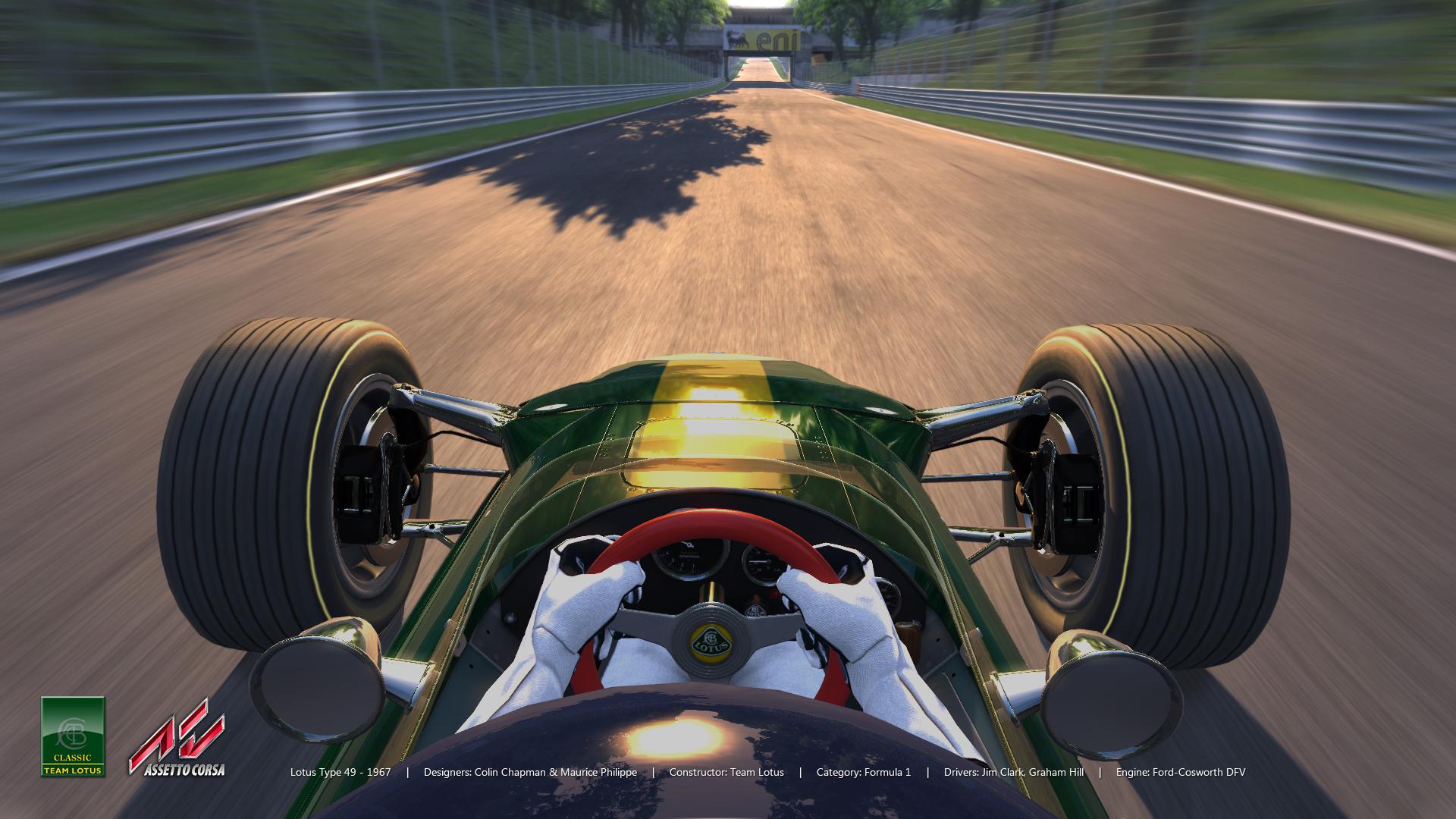 assetto corsa lotus 49 previews sim racing news. Black Bedroom Furniture Sets. Home Design Ideas