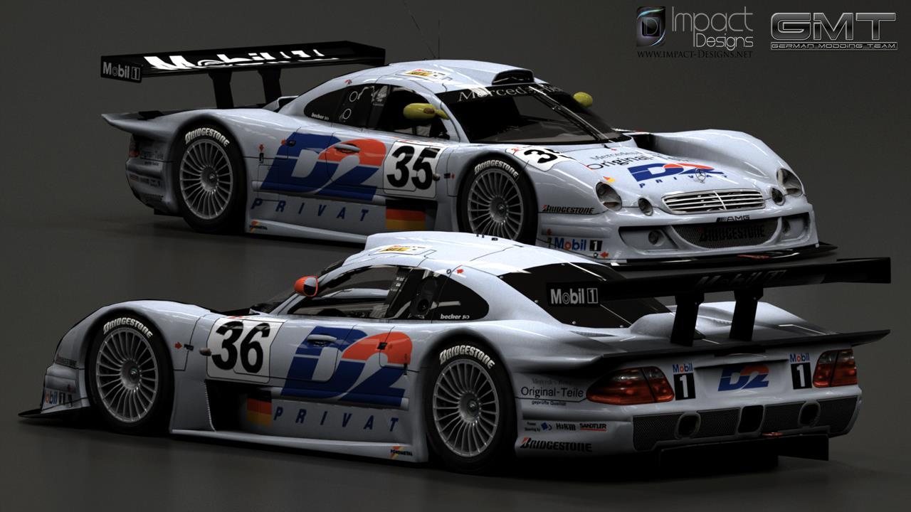 Mercedes Gt Race Car