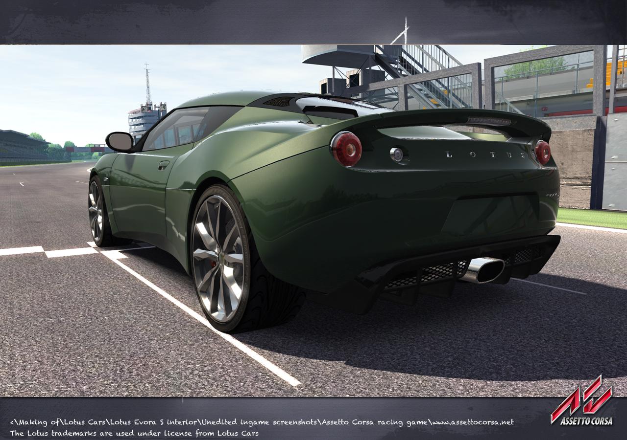 assetto corsa lotus license announced sim racing news. Black Bedroom Furniture Sets. Home Design Ideas