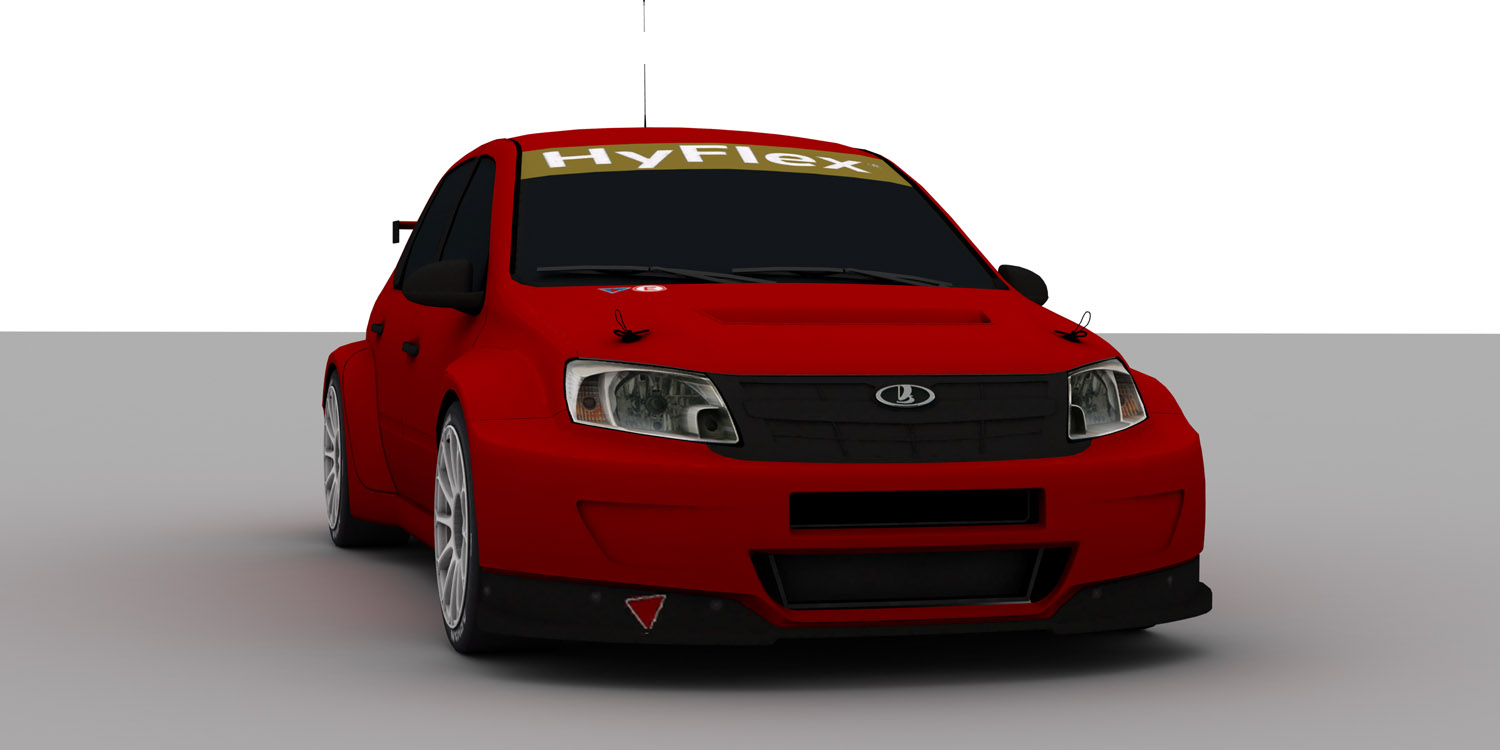 lada granta wtcc 2012 first previews sim racing news. Black Bedroom Furniture Sets. Home Design Ideas