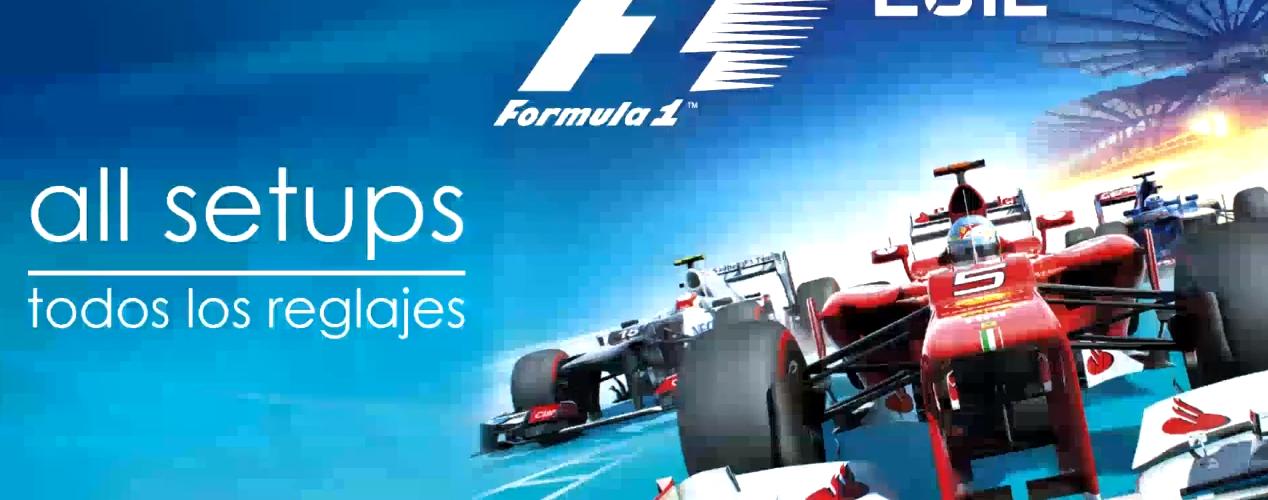 F1 2012 – Complete Setup Guide Video – VirtualR net – 100