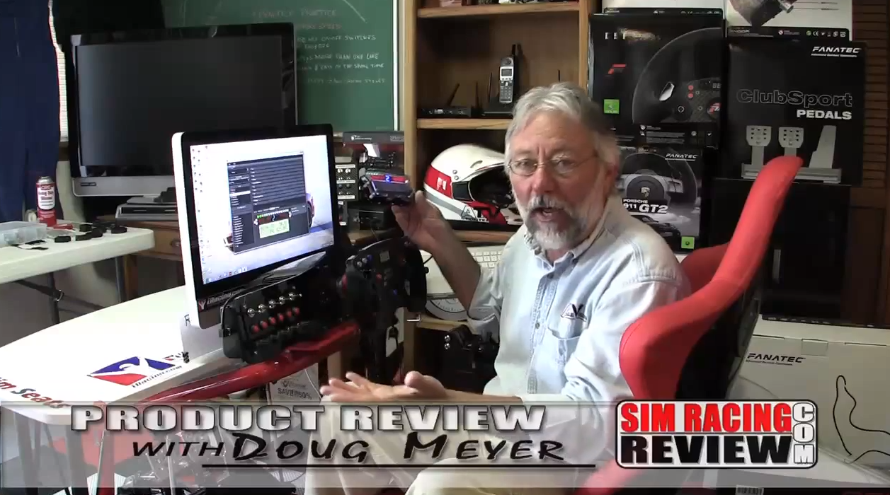 Sim Racing Review – Sim Instruments Dash Review – VirtualR net – 100